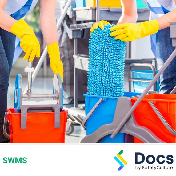 Cleaning (Bond) SWMS | Safe Work Method Statement