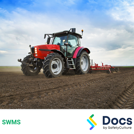 Tractor Mobile Operation SWMS | Safe Work Method Statement