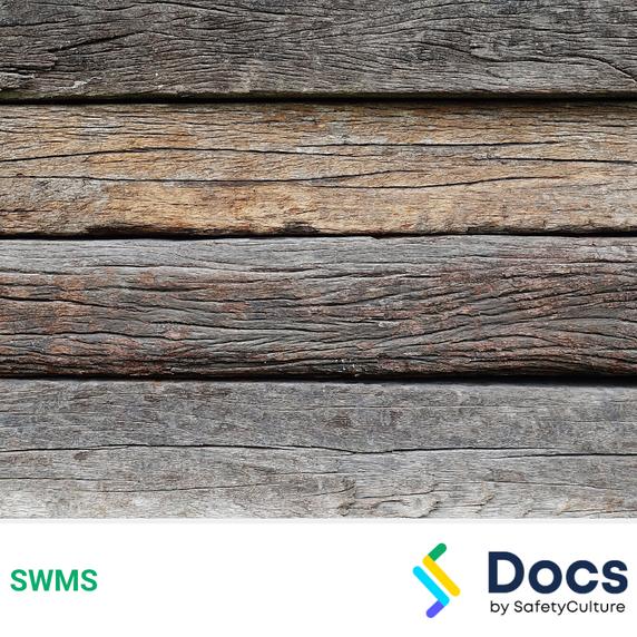 Retaining Wall (Post/Sleeper) SWMS | Safe Work Method Statement