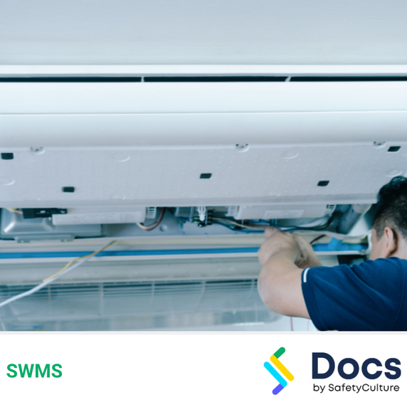 Air Conditioning Installation (Split Systems - New Construction) SWMS | Safe Work Method Statement