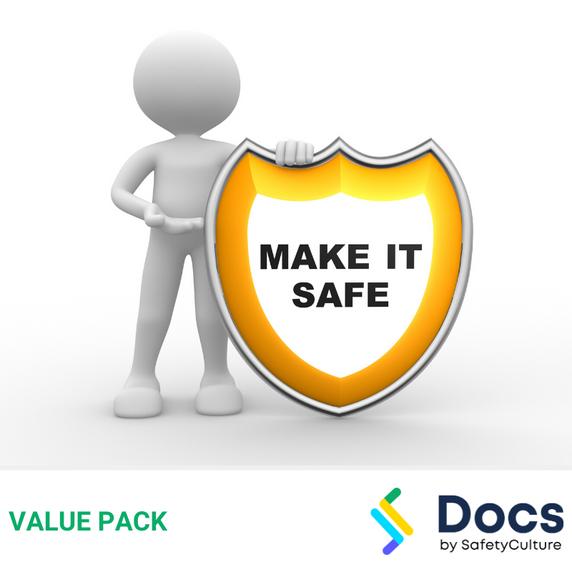 Make Safe SWMS | Safe Work Method Statement Value Pack