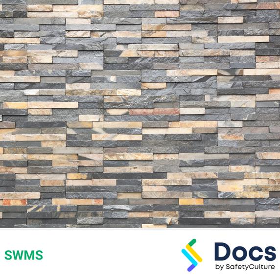 Stone (Mechanical Fixing) SWMS | Safe Work Method Statement