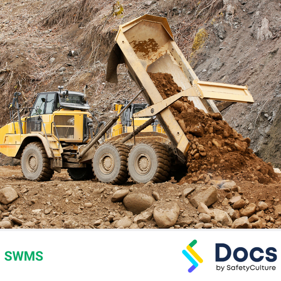 Mobile Plant (Articulated Dump Truck) SWMS | Safe Work Method Statement