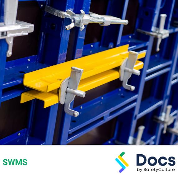 Concrete Formwork (Modular) SWMS | Safe Work Method Statement