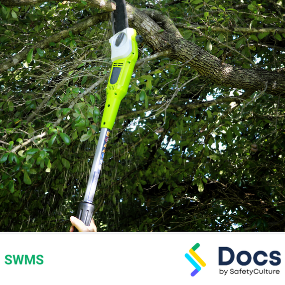 Pole Saw SWMS   Safe Work Method Statement