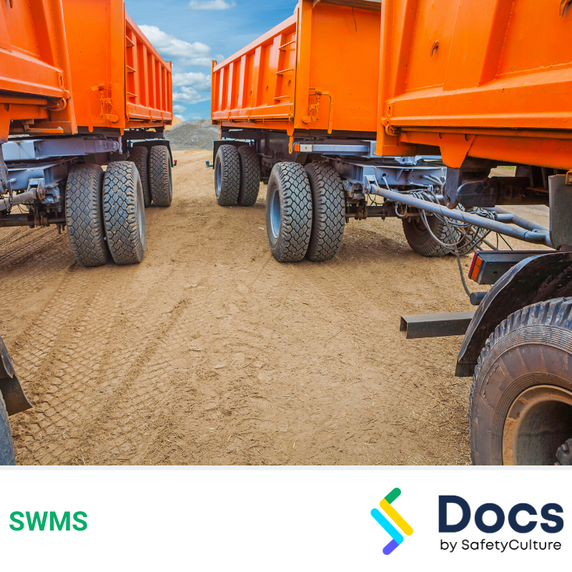 Mobile Plant (Side Tipper B-Double) SWMS | Safe Work Method Statement