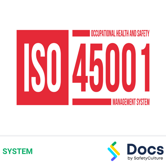 OHS/WHS Management System AS/NZS ISO 45001:2018