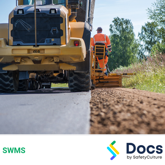 Roadworks (Edge Break Work) SWMS | Safe Work Method Statement