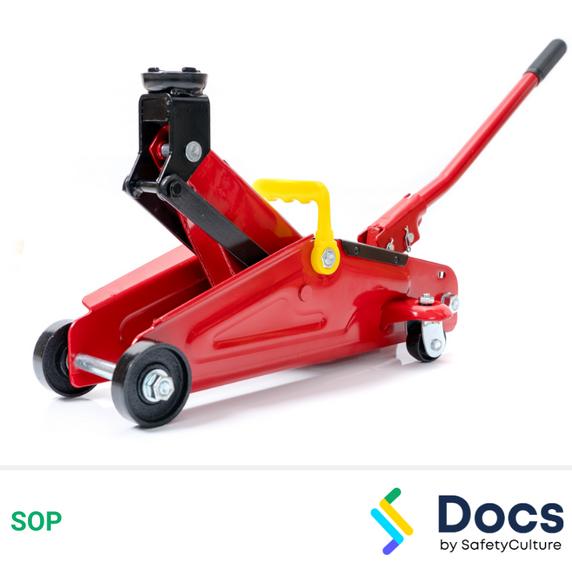 Jack (Hydraulic) SOP | Standard/Safe Operating Procedure