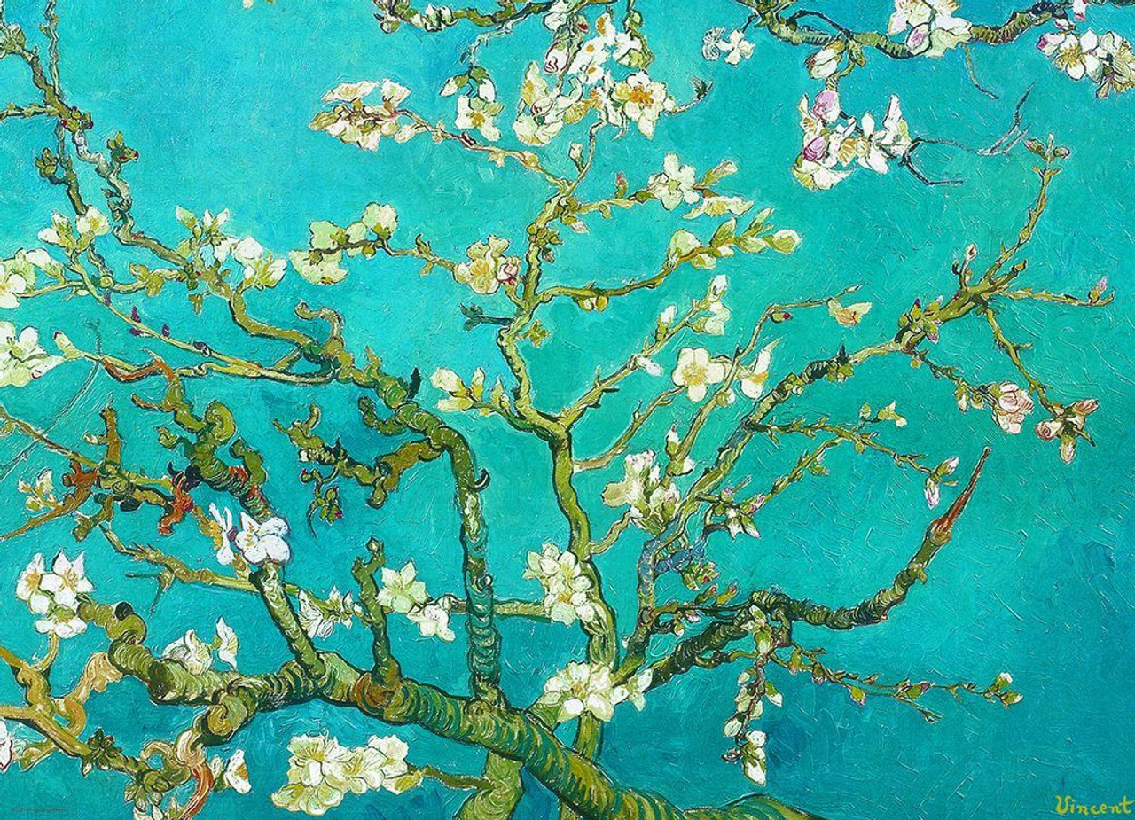 Pouch Included Flowering Almond Tree 500 Piece Jigsaw Puzzle