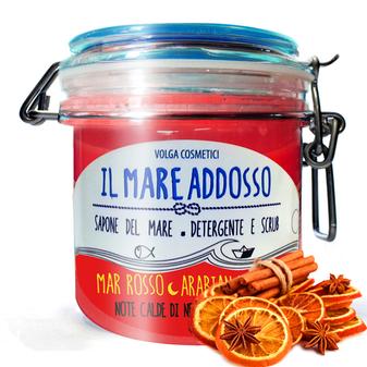 Il Mare Addosso – Mar Rosso - Arabian nights - 2in1 Duschgel&Körperpeeling