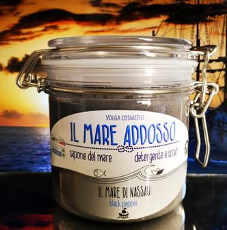 Il Mare Addosso – Il Mare di Nassau – Black Pepper – 2in1 Duschgel&Körperpeeling