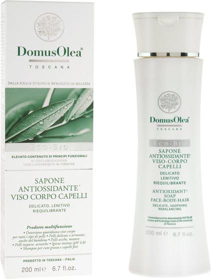 Antioxidative Seife für Gesicht, Körper & Haare
