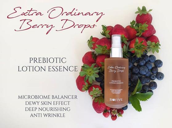 Extraordinary Berry Drops - Prebiotic Lotion Essence