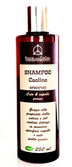 Shampoo Caolino e salvia - Shampoo mit weißer Tonerde und Salbei