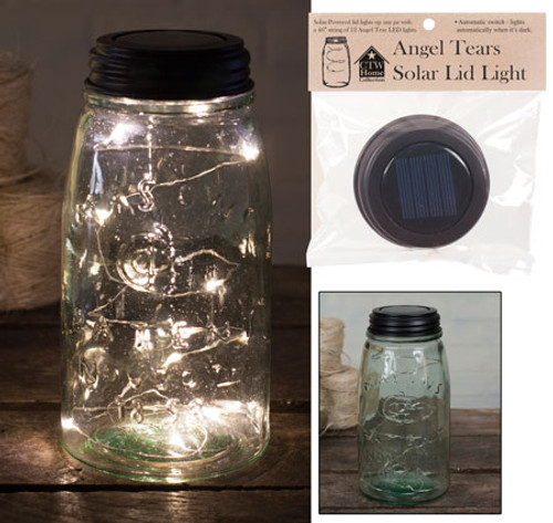 Solar Angel Tears Lid Light