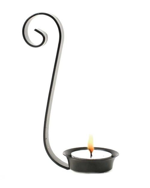 Mason Jar Tea Light Candle Holder - QT