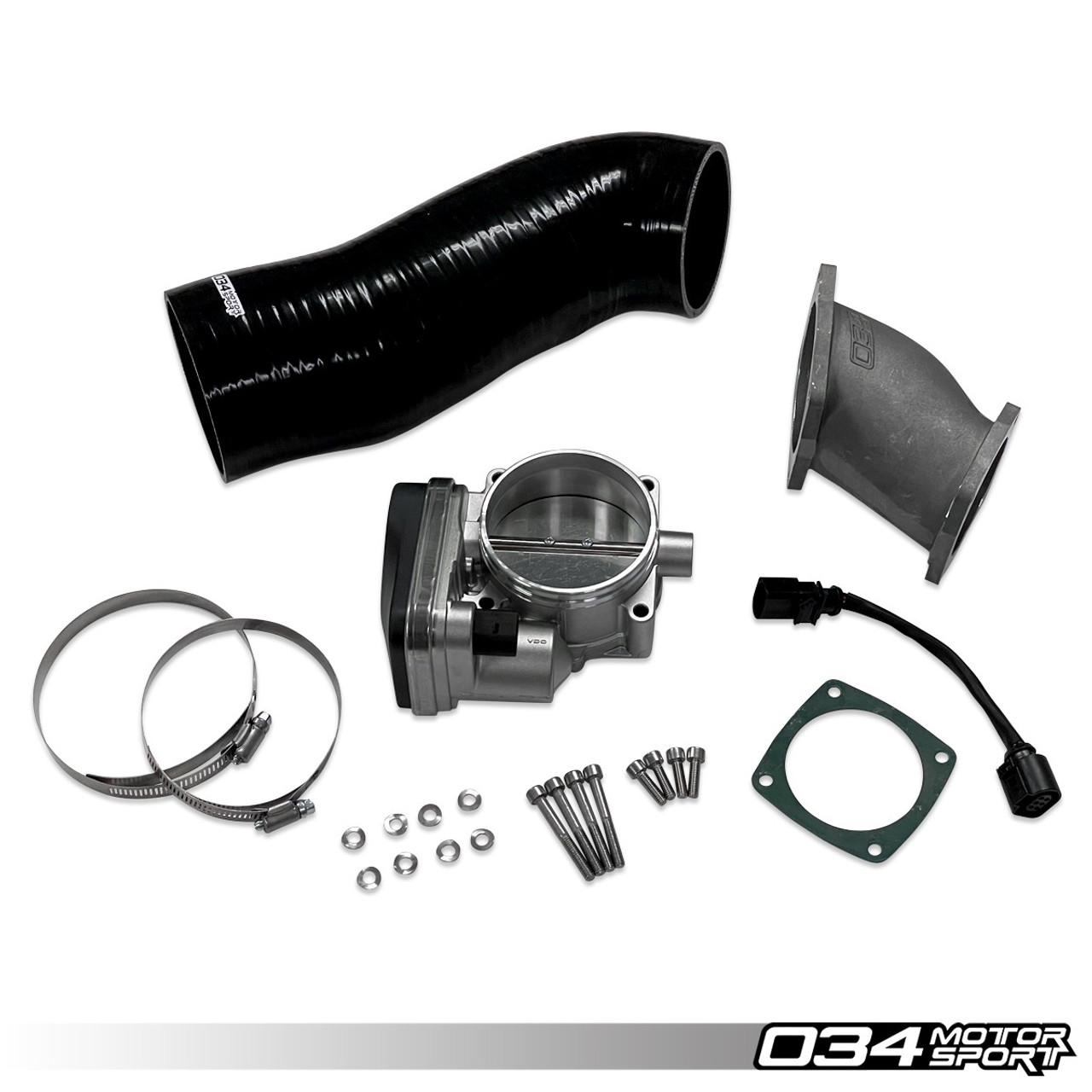034Motorsport SüperDüper Charger 84mm Throttle Body System for B8 3.0T