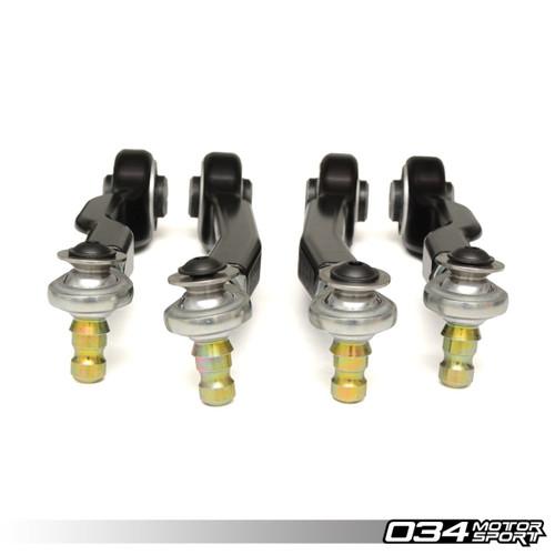 034Motorsport Track Spec Density Line Adjustable Upper Control Arm Kit for Audi B5, B6, B7 & C5