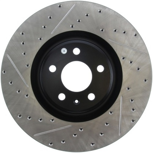 Stoptech Drilled & Slotted Sport Front Brake Rotors 356x34 (Pair)