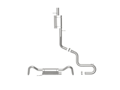 aFe Mach Force XP Catback Exhaust for Atlas 3.6L