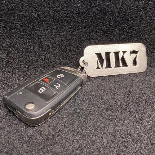CJM Industries MK1-8 Stainless Steel Keychains