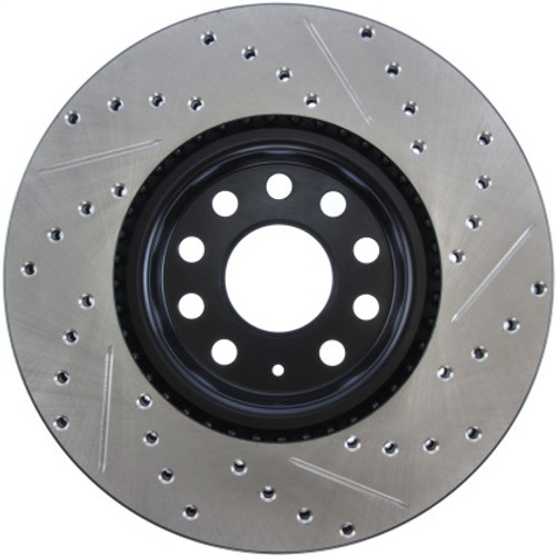 Stoptech Drilled & Slotted Sport Front Brake Rotors 312x25 (Pair)