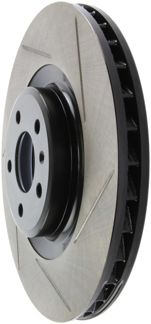 Stoptech Slotted Sport Front Brake Rotors 345x30 (Pair)