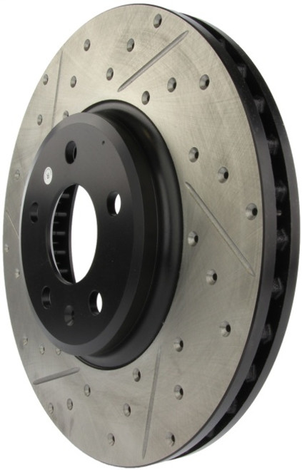 Stoptech Drilled & Slotted Sport Front Brake Rotors  320x30 (Pair)