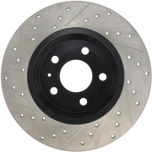 Stoptech Drilled & Slotted Sport Rear Brake Rotors  300x12 (Pair)