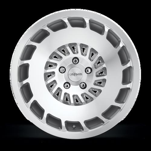 Rotiform CCV 5x112 - Gloss Silver Machined