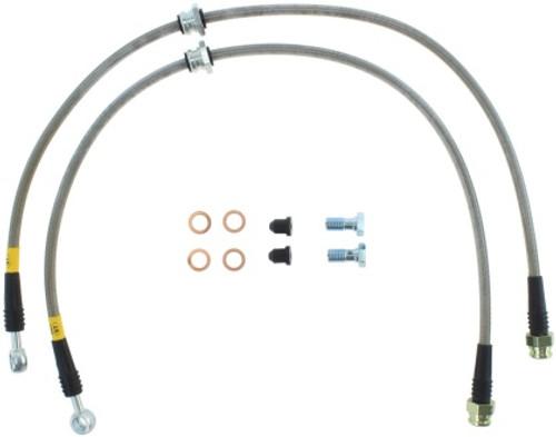 Stoptech Front Stainless Steel Brake Line Kit for VW MK7 & Audi 8V