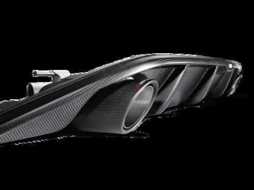 Akrapovic Carbon Fiber Rear Diffuser for MK7 GTI