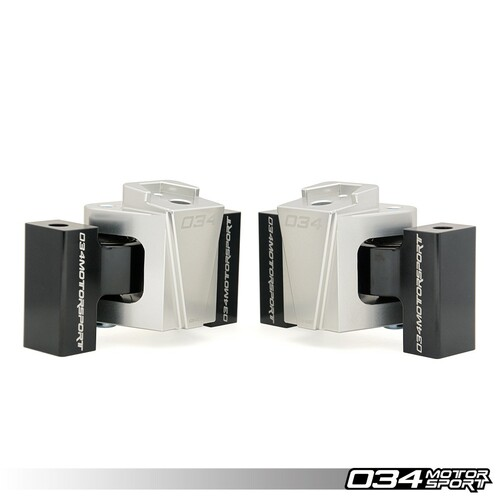034Motorsport Billet Motorsport Motor Mount Pair for Audi B8