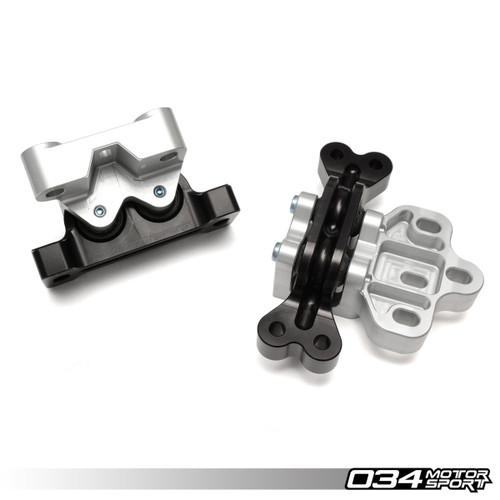 034Motorsport TrackSport Engine/Transmission Mount Pair for MK5 R32, 8J TT 3.2  & 8P A3 3.2