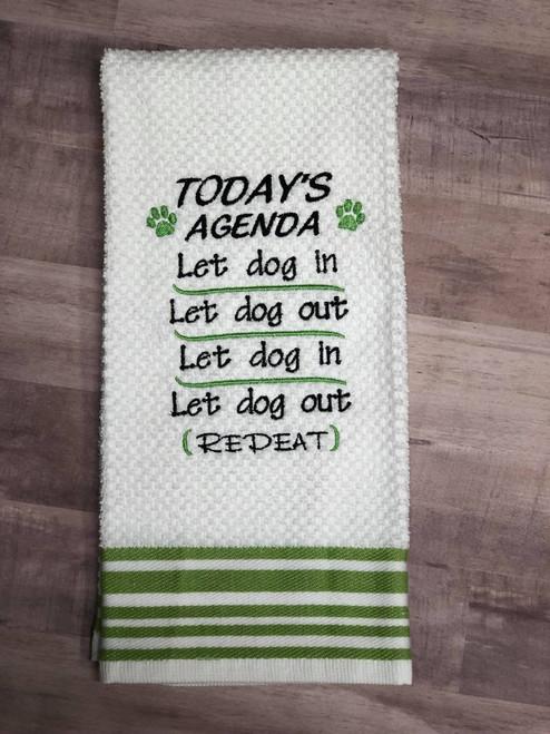 Let Dog In Out Embroidery / SVG Design ***DIGITAL DOWNLOAD***
