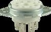 Ceramic - 8 Pin Octal Tube Socket (solder)