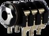 "Cliff S4 - 1/4"" Stereo Switching Jack (6 lug; L-Leg PCB)"
