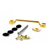 Towner Down Tension Bar and Hinge Plate Adaptor - Gold