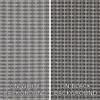 Grill Cloth - Fender Style Grey/Silver/Blue - By Yard