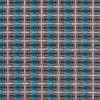 Grill Cloth - Fender Style Grey/Silver/Turquoise - By Yard