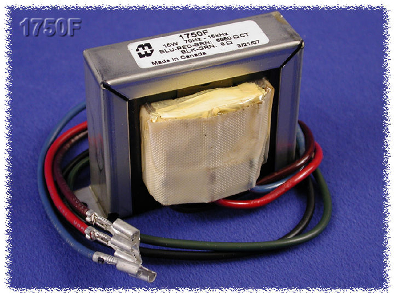 Hammond 1760F - Output Transformer UPGRADE