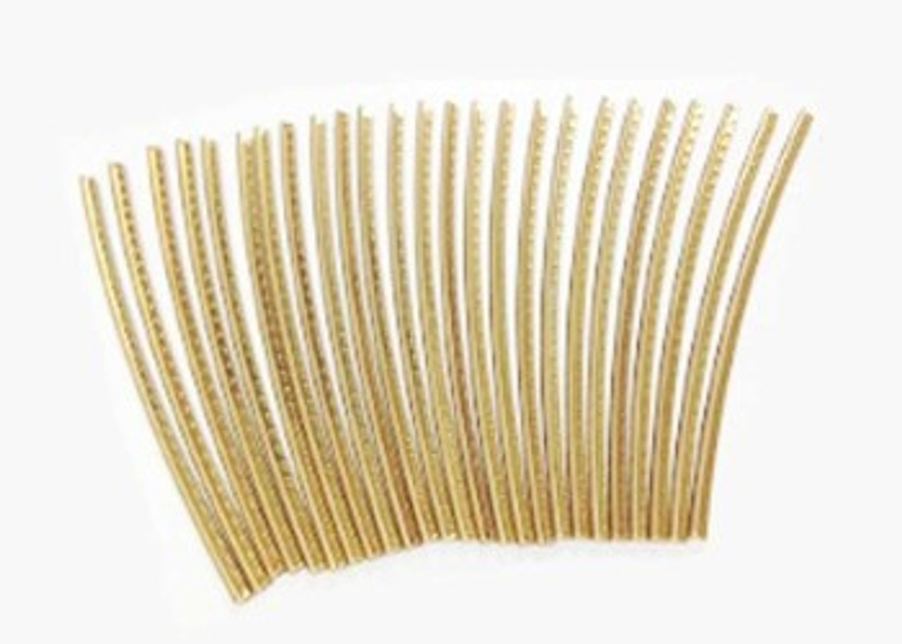 Fret Wire Set - Extra Jumbo Gold (25pcs)