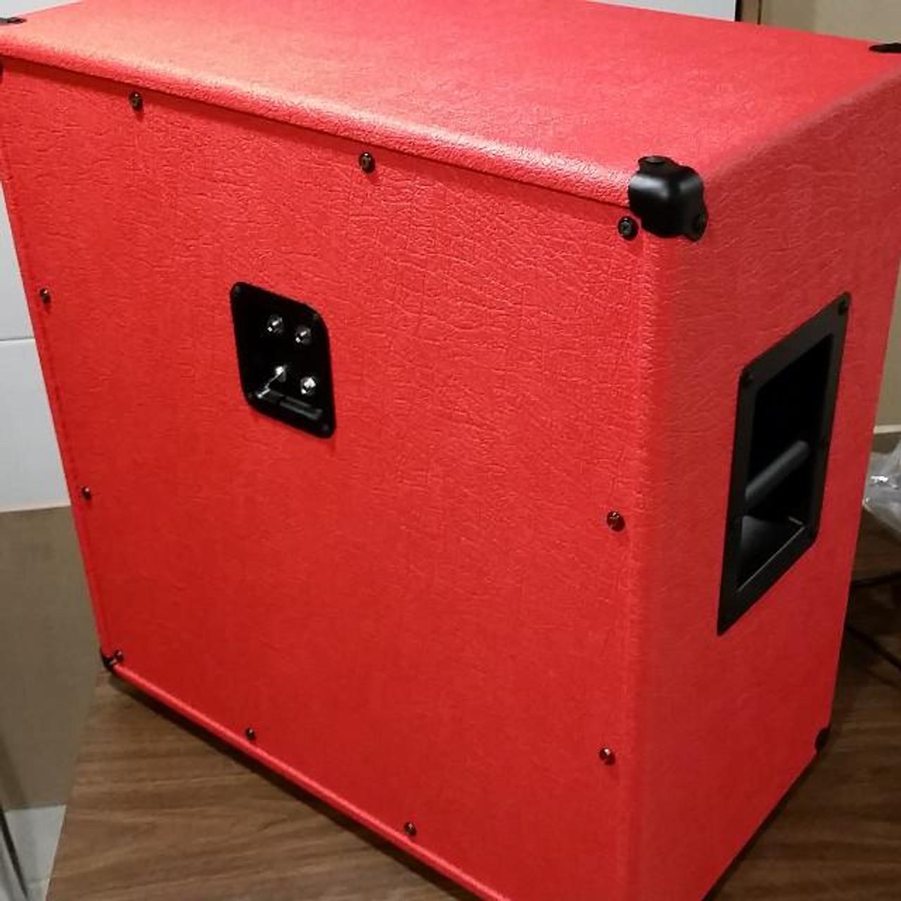 Tolex - Elephant/Jungle Bark Red - Customer Example