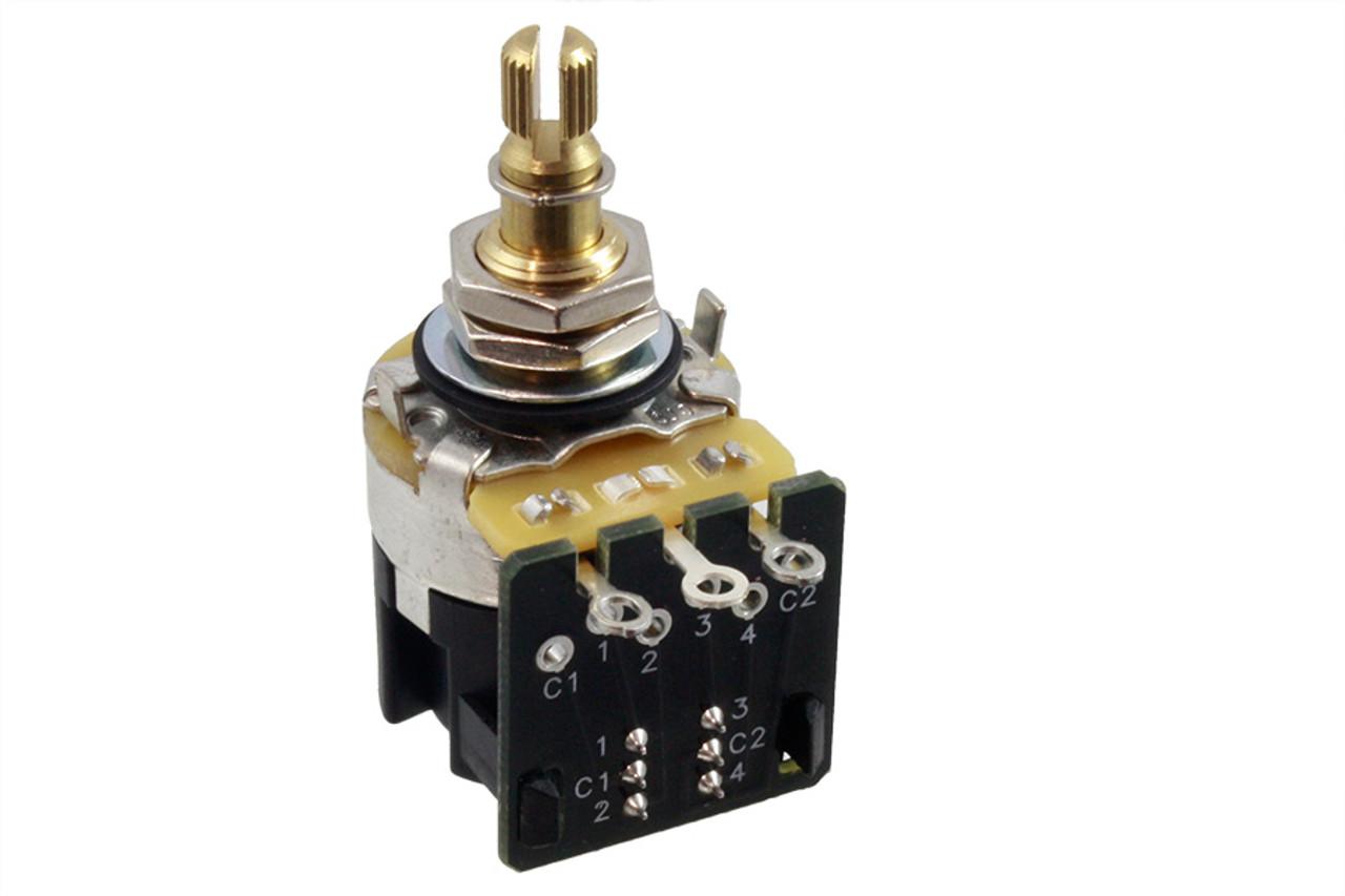 CTS - A500K Push-Pull Split Shaft Pot