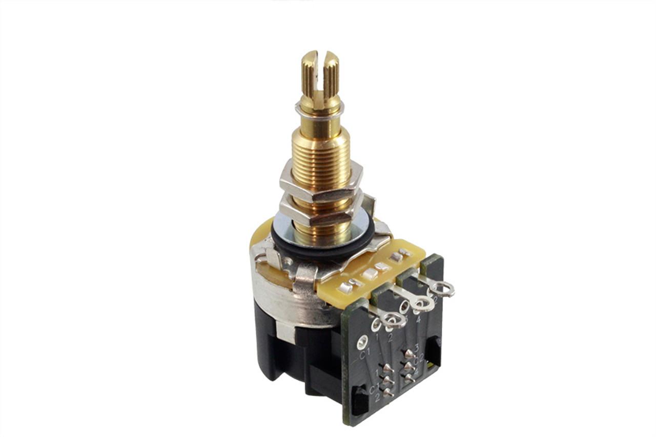 CTS - A500K LONG Push-Pull Split Shaft Pot