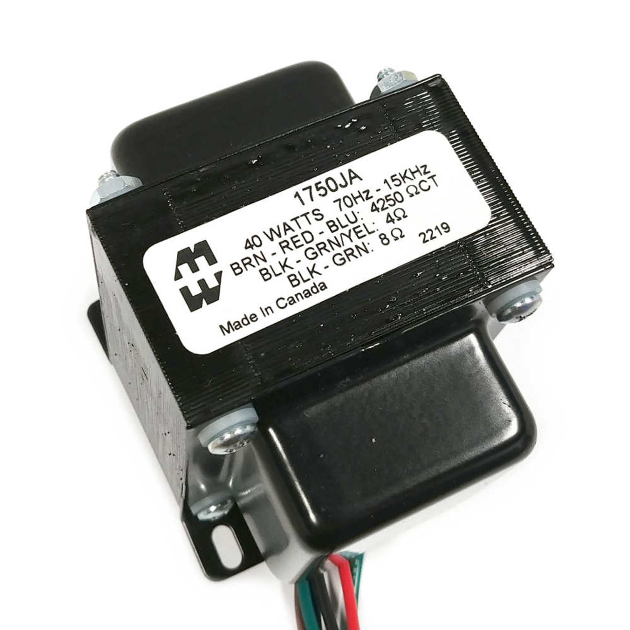 Hammond 1750JA - Output Transformer - 4.25K, 4/8 OHM, PP, 40W
