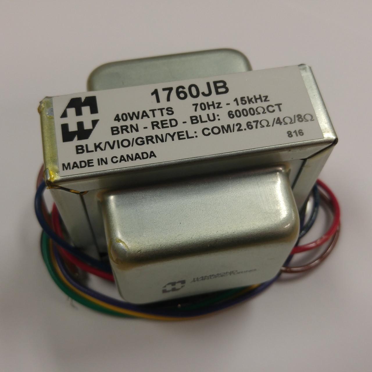 Hammond 1760JB - Output Transformer UPGRADE