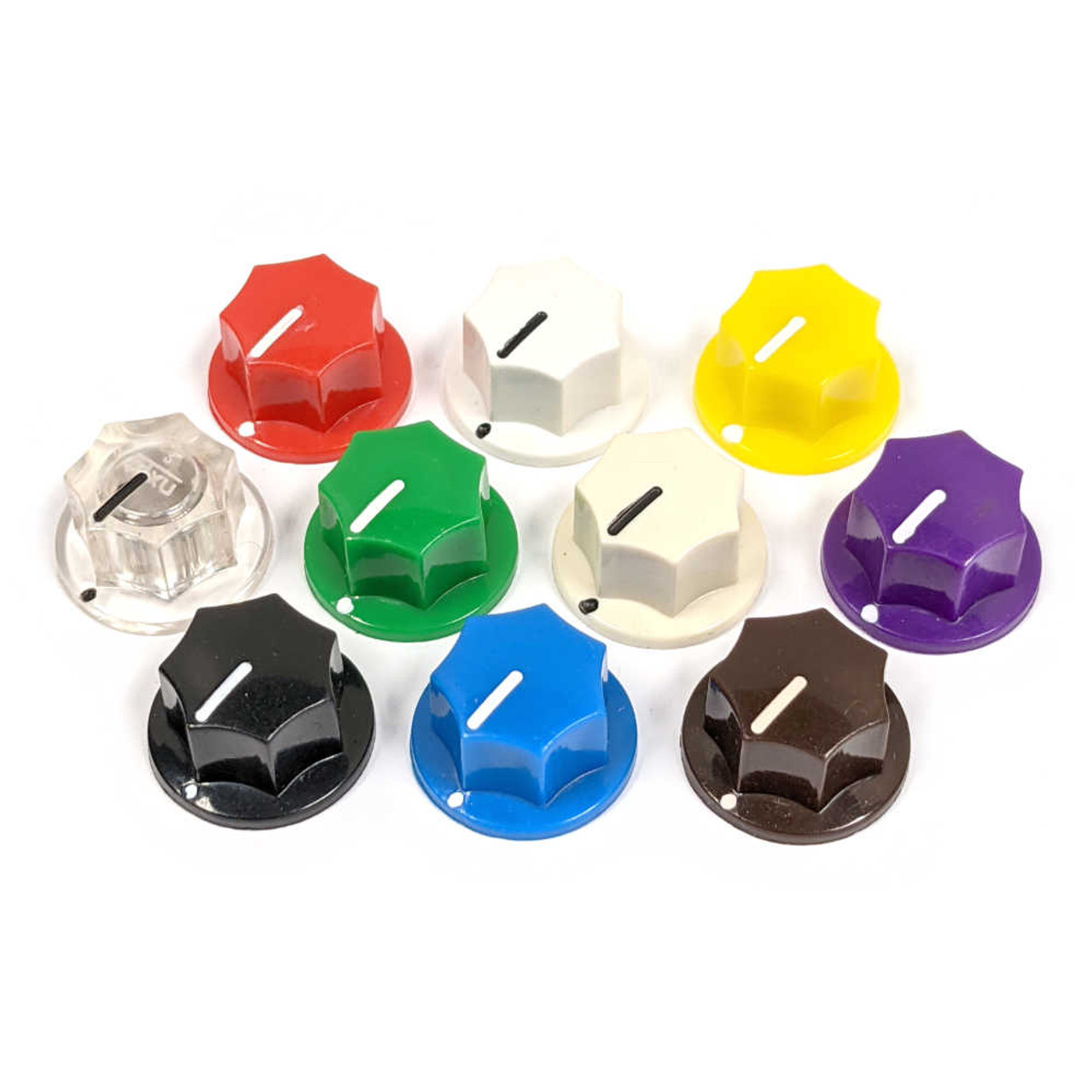 MXR Style Fluted Knob - Small (Choose Colour)