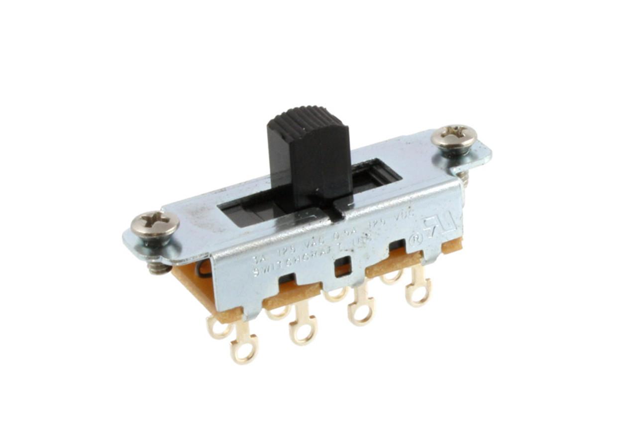 Switchcraft Slide Switch On-Off-On - Black